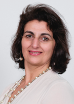 Maria Di Gregorio, Chair and Treasurer