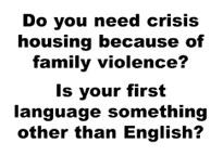 CALD Crisis Housing Service