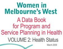 Women in Melbourne's West: A Data Book