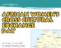 African Women's Cross-Cultural Exchange Day