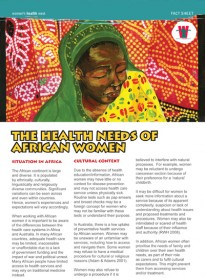 African women's health needs