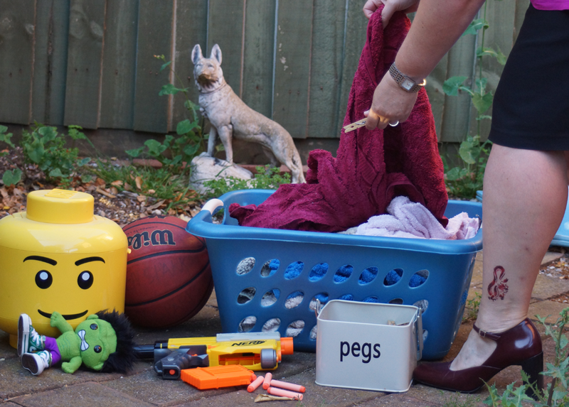 The Juggling Act Children sports,  work,  personal time, and washing – there's always washing!