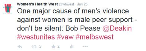 Tweet quoting Bob Pease at westunites forum