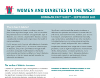 Women and diabetes in the west