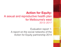 Evaluation report 1: A report on the social networks of the Action for Equity partnership 2014