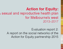 Evaluation report 2: A report on the social networks of the Action for Equity partnership 2015