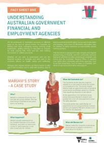 Understanding Australian Government financial and employment agencies