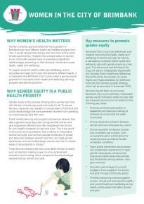 Gendered analysis fact sheets