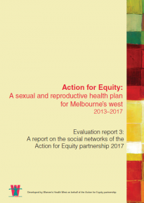 Action for Equity: Evaluation report 3 on the social networks
