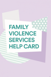 Family Violence Services Help Card