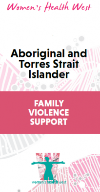 Aboriginal and Torres Strait Islander family violence support