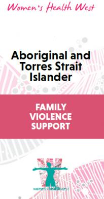Aboriginal and Torres Strait Islander family violence support