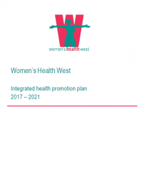 Women's Health West integrated health promotion plan 2017-2021