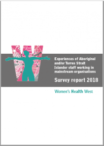 Experiences of Aboriginal and/or Torres Strait Islander staff working in mainstream organisations